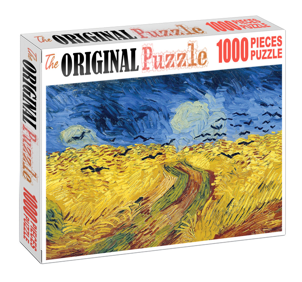 Golden Field Wooden 1000 Piece Jigsaw Puzzle Toy For Adults and Kids