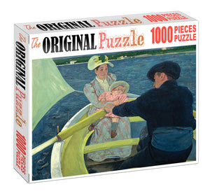 Boating is Wooden 1000 Piece Jigsaw Puzzle Toy For Adults and Kids