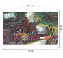 Garden Wooden 1000 Piece Jigsaw Puzzle Toy For Adults and Kids