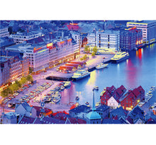 Eastern Dock City is Wooden 1000 Piece Jigsaw Puzzle Toy For Adults and Kids