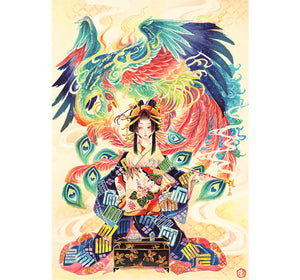 Maiden of Phoenix is Wooden 1000 Piece Jigsaw Puzzle Toy For Adults and Kids