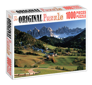 Green Valley Wooden 1000 Piece Jigsaw Puzzle Toy For Adults and Kids