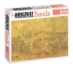 Ancient China 1 Wooden 1000 Piece Jigsaw Puzzle Toy For Adults and Kids
