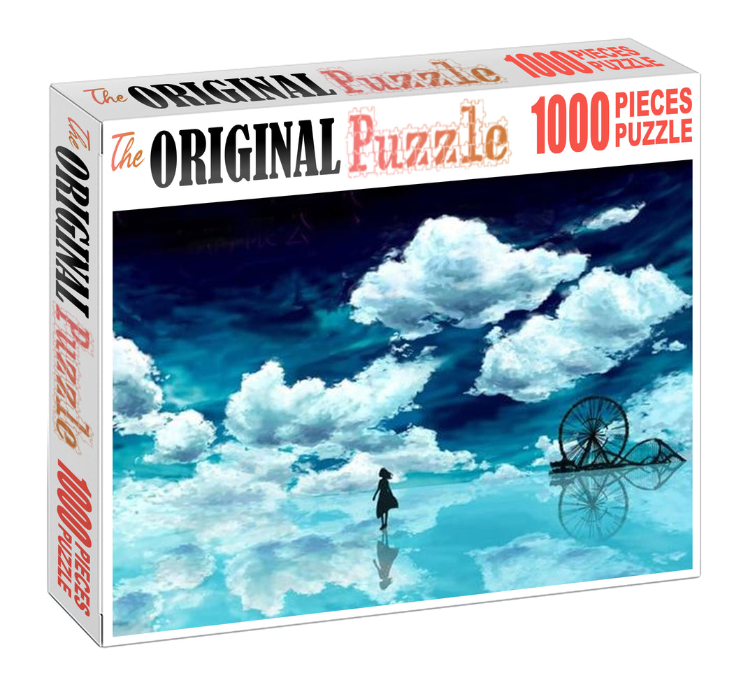 Walking on Water Wooden 1000 Piece Jigsaw Puzzle Toy For Adults and Kids