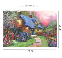 Season of Flowers is Wooden 1000 Piece Jigsaw Puzzle Toy For Adults and Kids