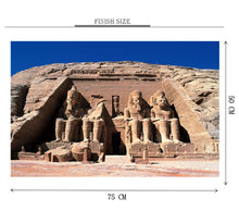 Sphinx Temple Egypt is Wooden 1000 Piece Jigsaw Puzzle Toy For Adults and Kids