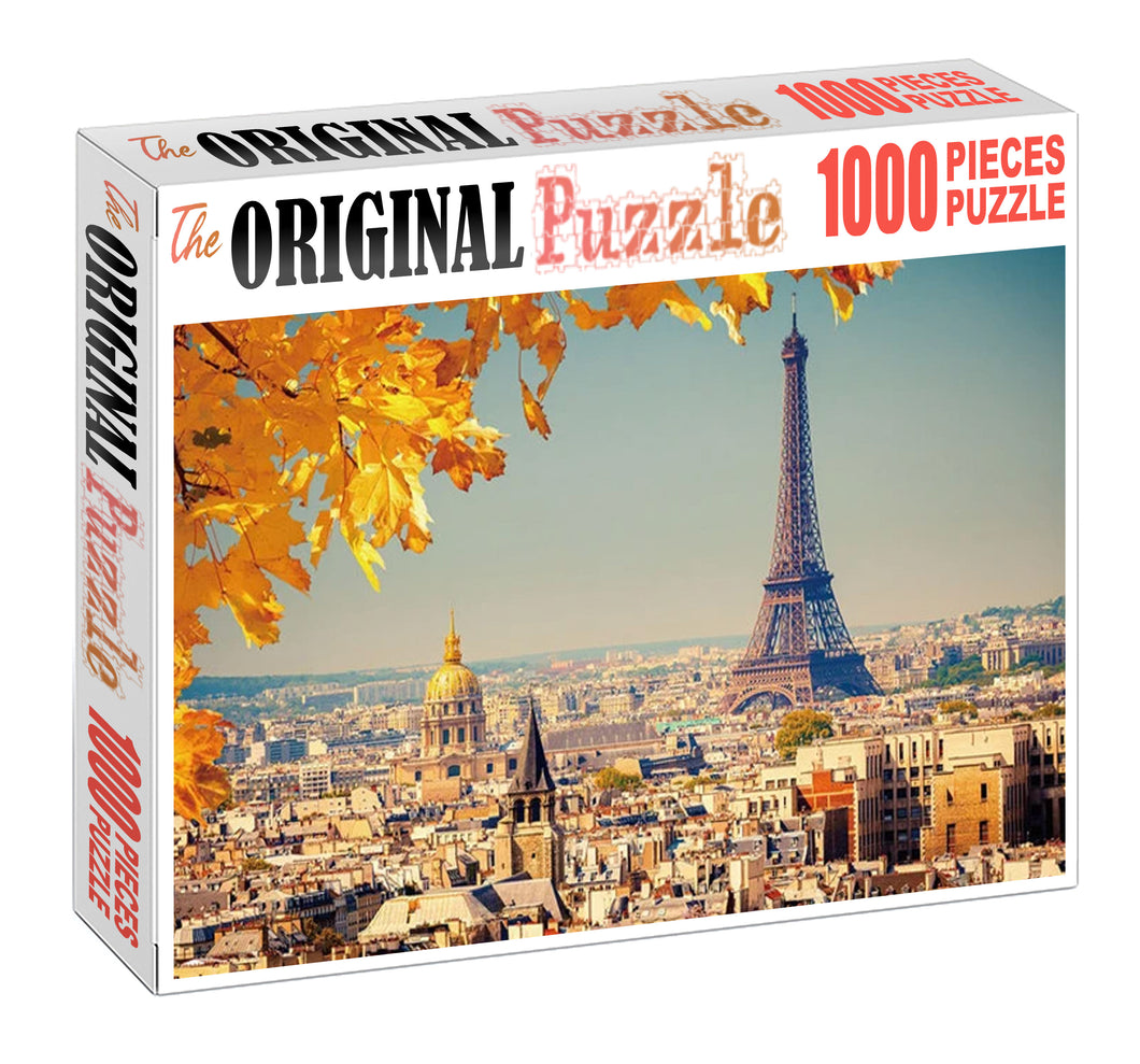 New York Autumn Wooden 1000 Piece Jigsaw Puzzle Toy For Adults and Kids