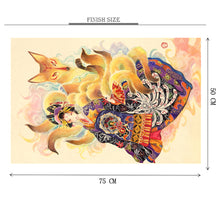 Fire Fox is Wooden 1000 Piece Jigsaw Puzzle Toy For Adults and Kids