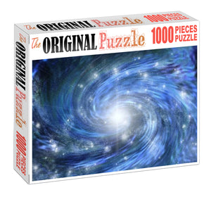 Wirlpool of Stars Wooden 1000 Piece Jigsaw Puzzle Toy For Adults and Kids