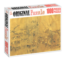 Ancient China 2 Wooden 1000 Piece Jigsaw Puzzle Toy For Adults and Kids