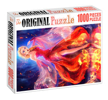 Girl on Fire Wooden 1000 Piece Jigsaw Puzzle Toy For Adults and Kids