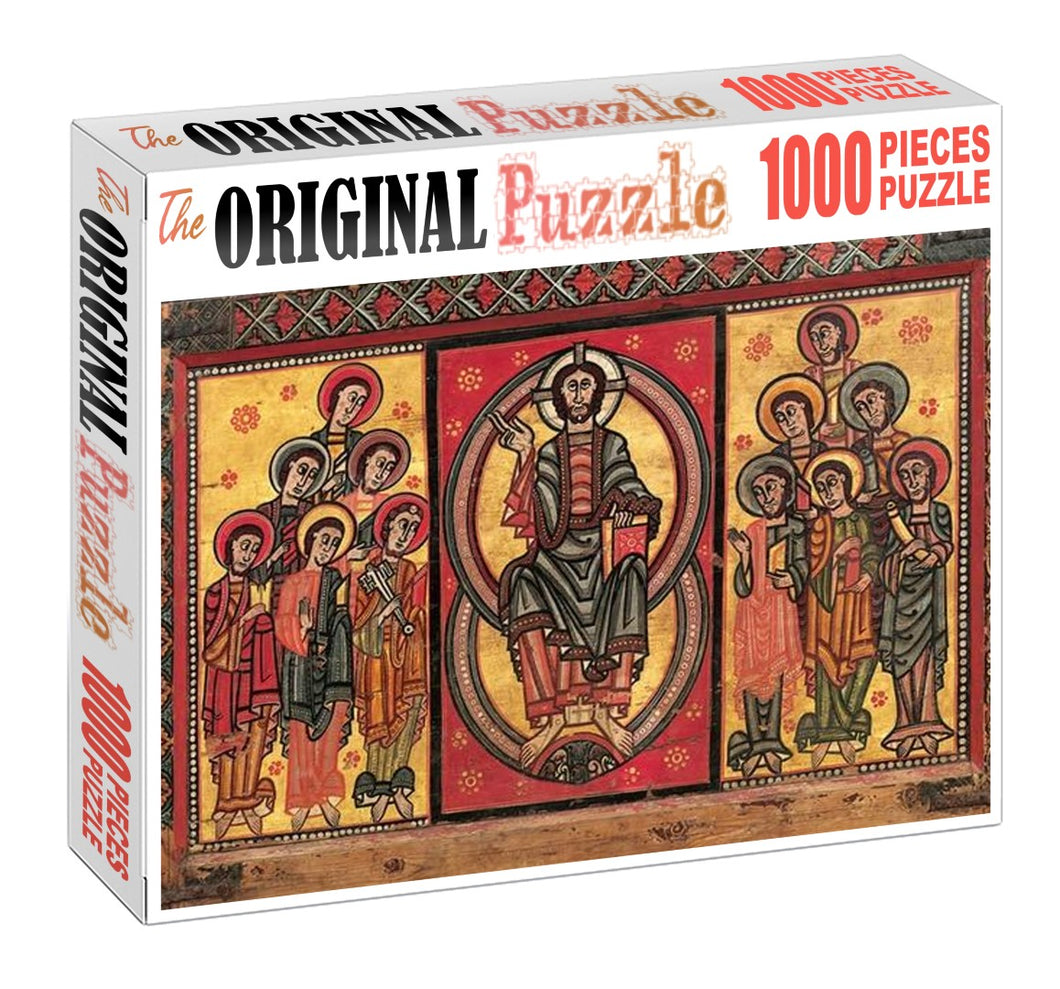 Altar Frontal Wooden 1000 Piece Jigsaw Puzzle Toy For Adults and Kids