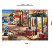 A Quiet Street Corner Wooden 1000 Piece Jigsaw Puzzle Toy For Adults and Kids