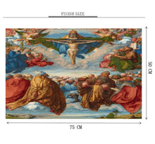 Adoration of The Trinity Wooden 1000 Piece Jigsaw Puzzle Toy For Adults and Kids