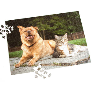 Create Your Own Custom 1000 Pieces Puzzle - Makes A Perfect Gift