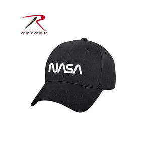 Rothco NASA Worm Logo Low Profile Cap - Black