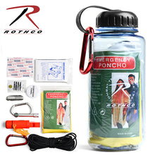 Load image into Gallery viewer, ROTHCO WATER BOTTLE SURVIVAL KIT
