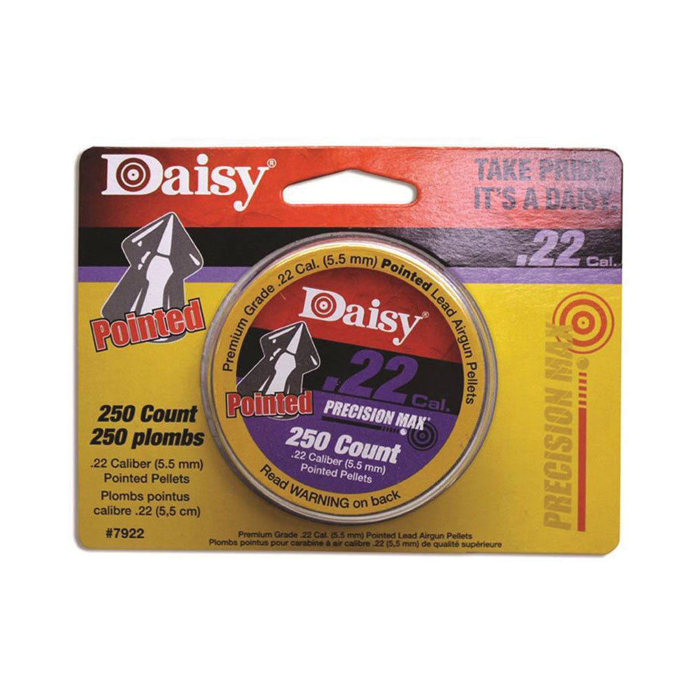 DAISY POINTED FIELD PELLETS .22 CALIBER