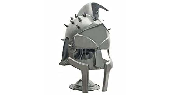 GLADIATOR HELMET WITH STAND