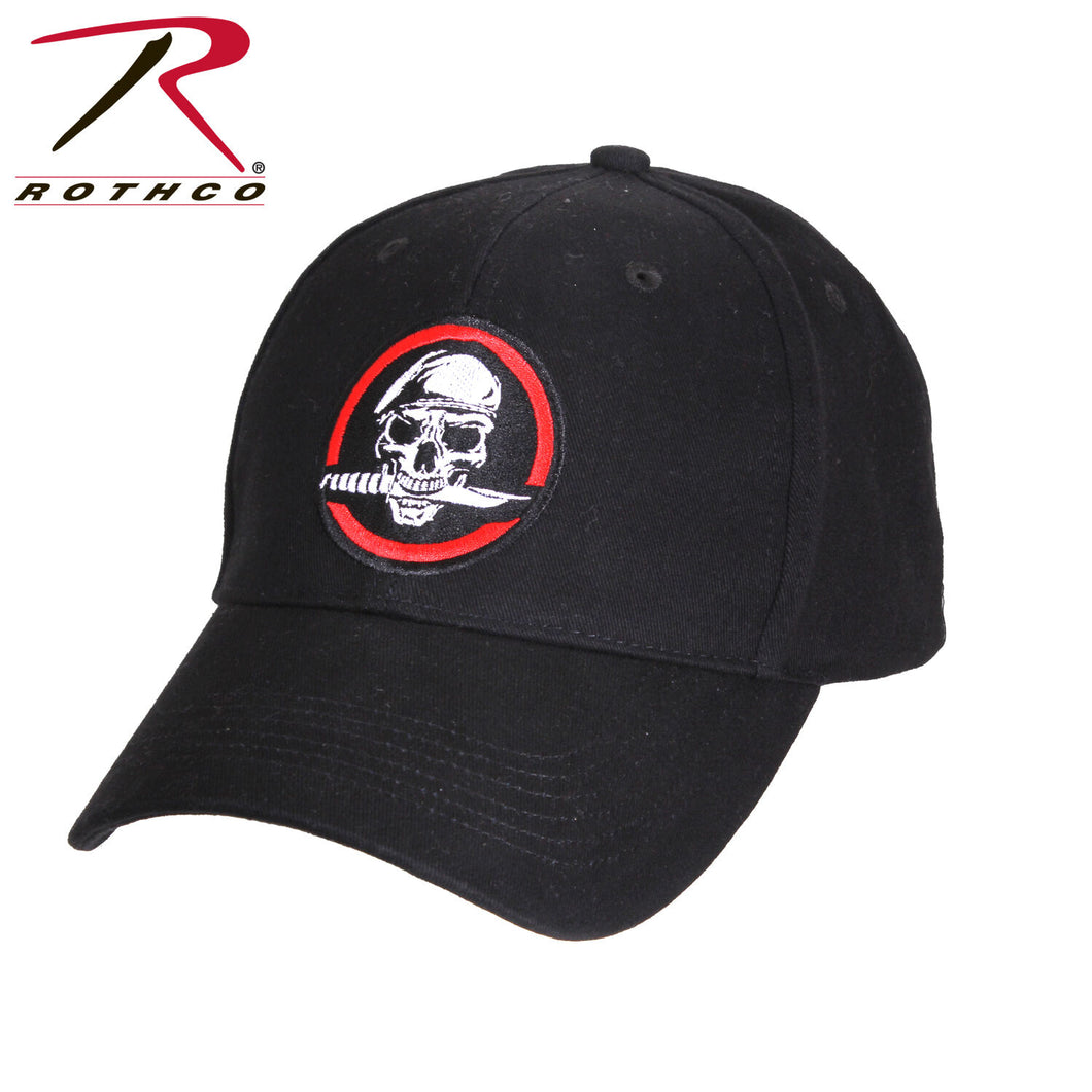 CAP SKULL / KNIFE DELUXE LOW PROFILE