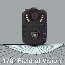 Load image into Gallery viewer, Police Force Tactical Body Camera Pro HD