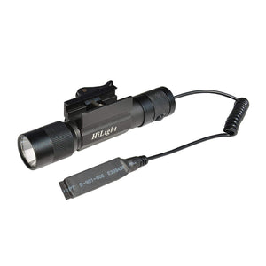 HILIGHT 800 LM RIFLE MOUNTED TACTICAL FLASHLIGHT W/SMART PRESSURE SWITCH