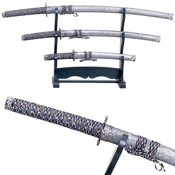 SAMURAI SWORD SET (L) 39.8