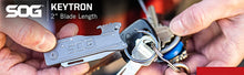 Load image into Gallery viewer, SOG KEYTRON KEYCHAIN