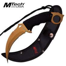 Load image into Gallery viewer, MTECH USA FIXED BLADE KNIFE