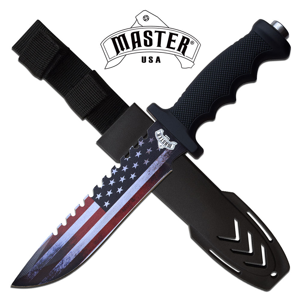 MASTER USA FIXED BLADE KNIFE