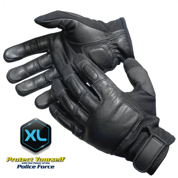 POLICE FORCE TACTICAL SAP GLOVES X-LARGE