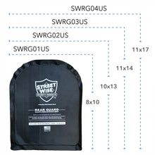 Load image into Gallery viewer, STREETWISE 11X17 REAR GUARD BALLISTIC SHIELD BACKPACK INSERT