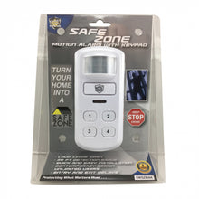 Load image into Gallery viewer, SAFEZONE MOTION ACTIVATED ALARM W/KEYPAD