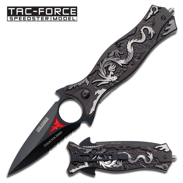 TAC-FORCE SPRING ASSISTED KNIFE