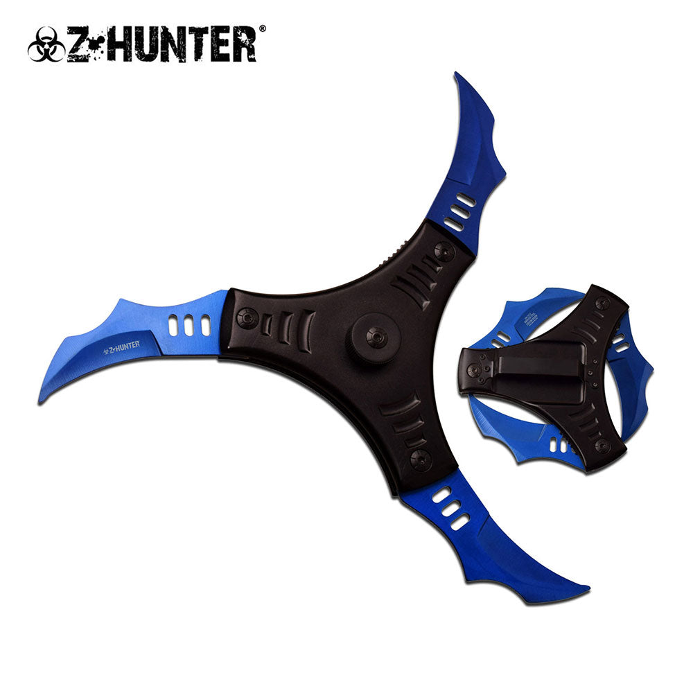 Z HUNTER 3 BLADES SPRING ASSISTED KNIFE (AUTOMATIC)