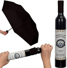 Load image into Gallery viewer, WINE BOTTLE UMBRELLA