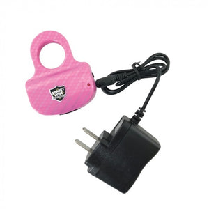 18 MILLION VOLTS STING RING STUN GUN PINK