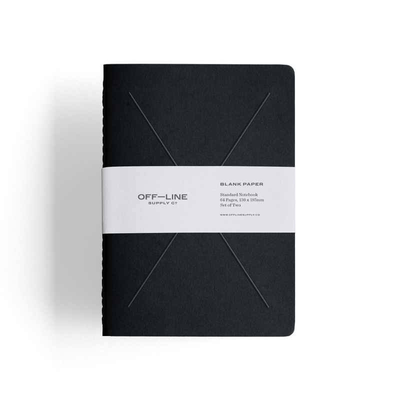 Standard Notebook – 2 Pack