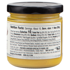 Fisher and Wieser Mustard