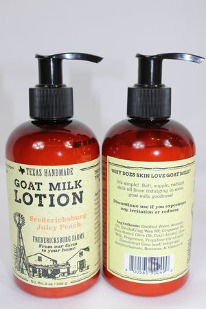 Fredericksburg Farms Lotions