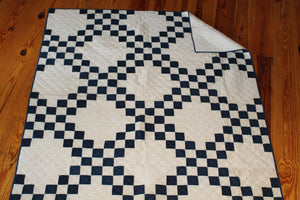 100 Year Vintage Top- Double Irish Chain Quilt