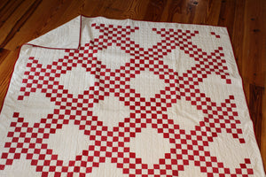 100 Year Vintage Top- Triple Irish Chain Quilt