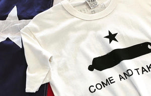 Come And Take It - Bluestem Crew Neck Tee Shirt