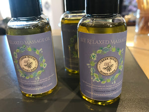 Bee relaxed massage oil
