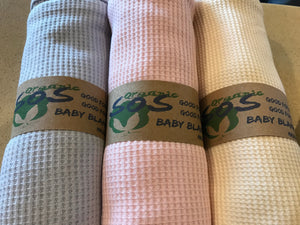 Baby Blankets made from 100% Organic Texas Cotton