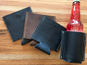 Leather coozies