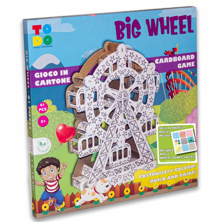 Big Wheel – Ruota panoramica di cartone