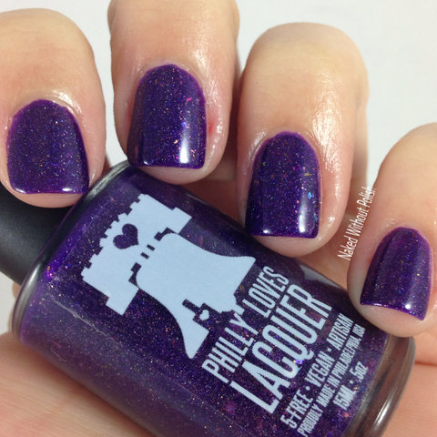 Forever 29 Purple Jelly Micro Glitter Flakie Nail Polish
