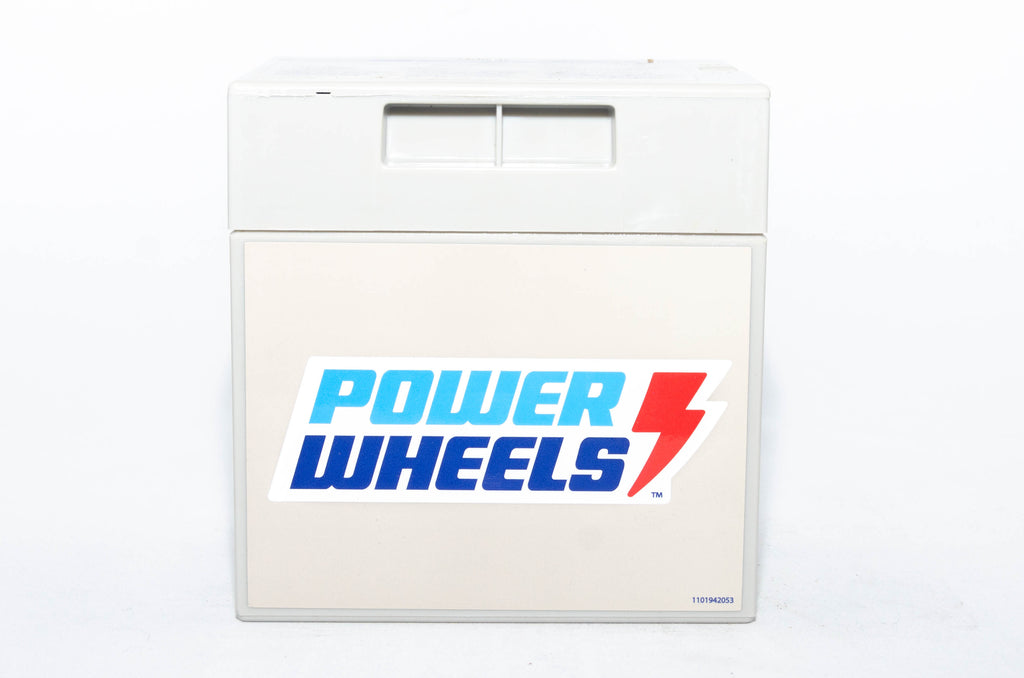 Fisher-Price Power Wheels 12V Grey 12AH Battery 00801-0638 - BRS Toy Battery