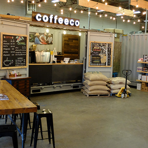 Coffeeco Shipping Container Espresso Bar